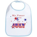 My 1st 4th Bib