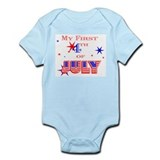 My 1st 4th Infant Bodysuit