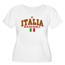 IT Italy Italia Baseball T-Shirt