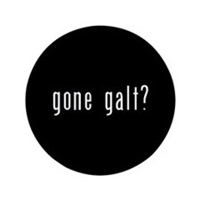 "gone galt 3.5"" Button"