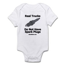 Real Trucks - Spark Plugs Infant Bodysuit