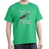 Real Trucks - Spark Plugs  T-Shirt