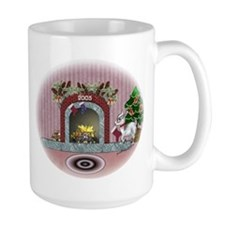 Pygmy Goat Christmas Ceramic Mugs