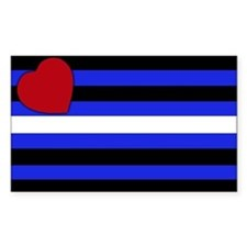 Leather Pride Rectangle Decal