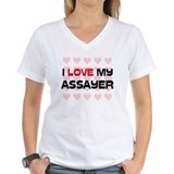 I Love My Assayer Shirt