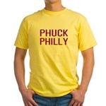 Phuck Philly 2 Yellow T-Shirt