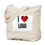 I LOVE LUNA Tote Bag