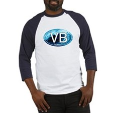 VB Vero Beach Wave Oval Baseball Jersey