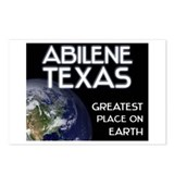 abilene texas - greatest place on earth Postcards