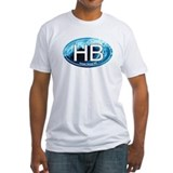 HB Holden Beach Wave Oval Shirt