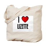 I LOVE LIZETTE Tote Bag