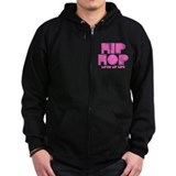 Hip Hop Saved My Life - Pink Zip Hoodie