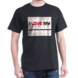 I Love My Advertising Copywriter T-Shirt