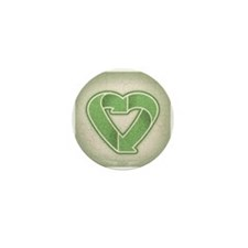 Recycling is Love Mini Button (10 pack)