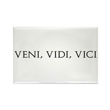Veni Vidi Vici Rectangle Magnet (10 pack)