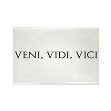 Veni Vidi Vici Rectangle Magnet (100 pack)