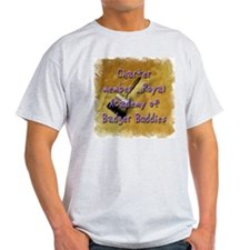 """Badger Buddies"" Ash Grey T-Shirt"
