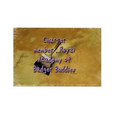 """""""Badger Buddies"""" Rectangle Magnet"""