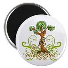 "Tree Hugger v3 2.25"" Magnet (100 pack)"