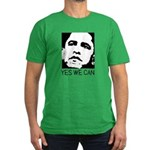 Yes we can / Obama Men's Fitted T-Shirt (dark)