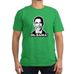 Oh-BAMA Men's Fitted T-Shirt (dark)