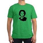 Michelle Obama screenprint Men's Fitted T-Shirt (d