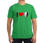 I heart Joe Biden Men's Fitted T-Shirt (dark)