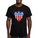 MCCAIN Men's Fitted T-Shirt (dark)