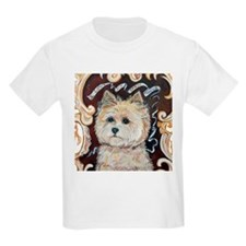 Cairn Terrier - Dog Portrait T-Shirt