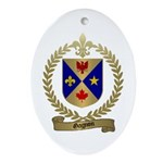 GAGNON Family Crest Oval Ornament