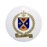 GAGNON Family Crest Ornament (Round)