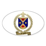 GAGNON Family Crest Oval Sticker