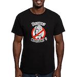 President McAncient ? Men's Fitted T-Shirt (dark)