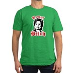 Royal Bitch / Anti-Hillary Men's Fitted T-Shirt (d
