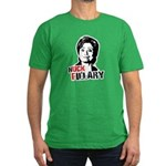 Anti-Hillary: Huck Fillary Men's Fitted T-Shirt (d