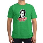Anti-Hillary: Anyone but her Men's Fitted T-Shirt