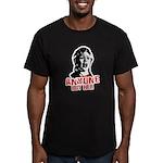 Anyone but Hillary Men's Fitted T-Shirt (dark)