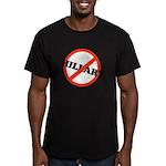 No Hillary Men's Fitted T-Shirt (dark)