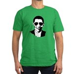 Barack Obama Sunglasses Men's Fitted T-Shirt (dark
