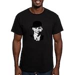 Barack Obama Bling Men's Fitted T-Shirt (dark)