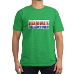 Romney 2008 Men's Fitted T-Shirt (dark)
