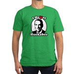 I Heart Huckabee Men's Fitted T-Shirt (dark)