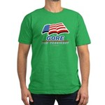 Gore for President Men's Fitted T-Shirt (dark)