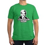 Gingrich 2008 Men's Fitted T-Shirt (dark)
