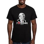 I Love Newt Gingrich Men's Fitted T-Shirt (dark)