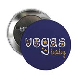 "Vegas Baby 2.25"" Button (10 pack)"