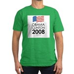 Obama / Clinton 2008 Men's Fitted T-Shirt (dark)
