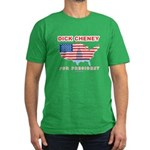 Dick Cheney for President Men's Fitted T-Shirt (da