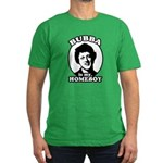 Bubba is my homeboy Men's Fitted T-Shirt (dark)
