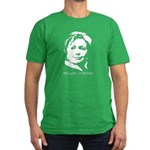 Hillary Clinton Men's Fitted T-Shirt (dark)